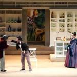 IKEA в опере Колокол Гаэтано Доницетти в театре Карло Феличе в Генуе