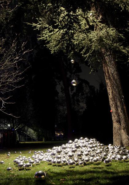 Фестиваль Света на деревьях в Женеве 2007 год