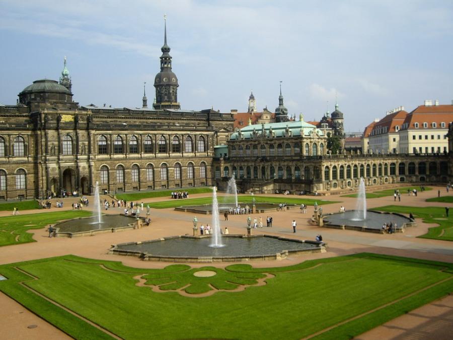 Галерея Старых Мастеров - Цвингер в Дрездене