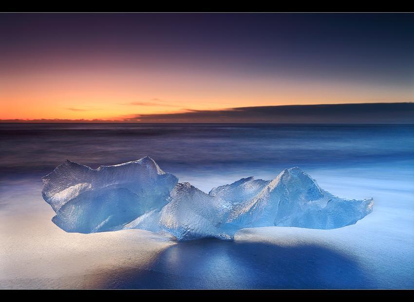 Причудливые ледяные скульптуры