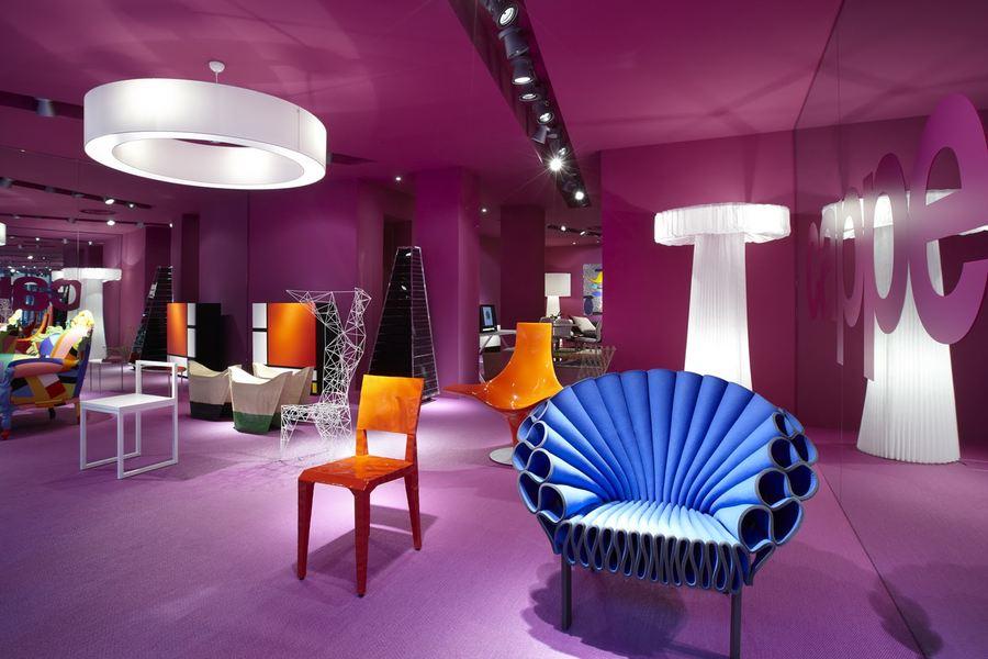 Выставка итальянской мебели Cappellini's в Париже
