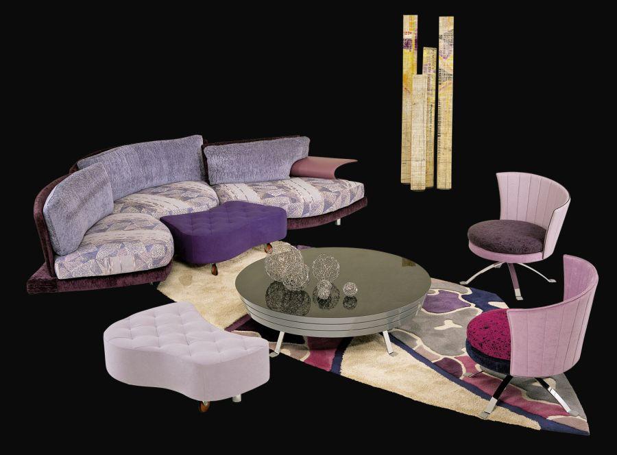 Мебель итальянского дизайнера Giorgio Saporiti