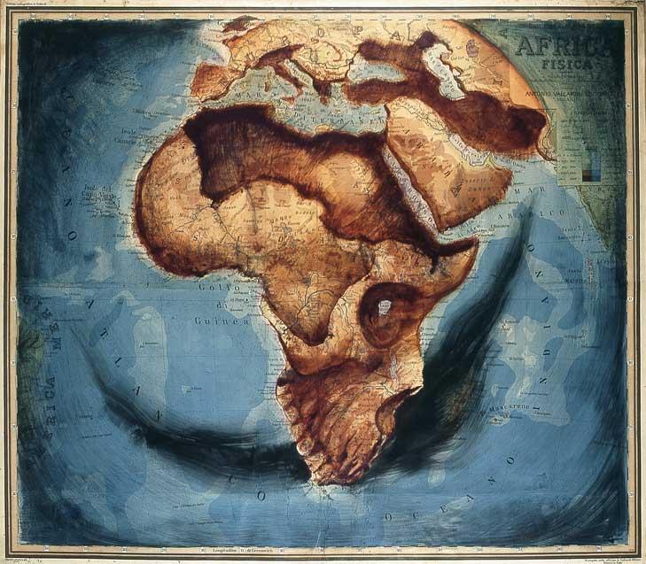 Африканский череп