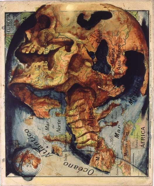 Европейский череп