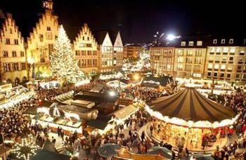 Рождественский базар на площади Навона