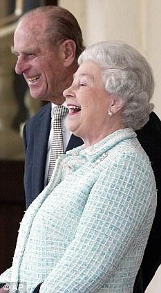 Королева Елизавета II Принц Филипп