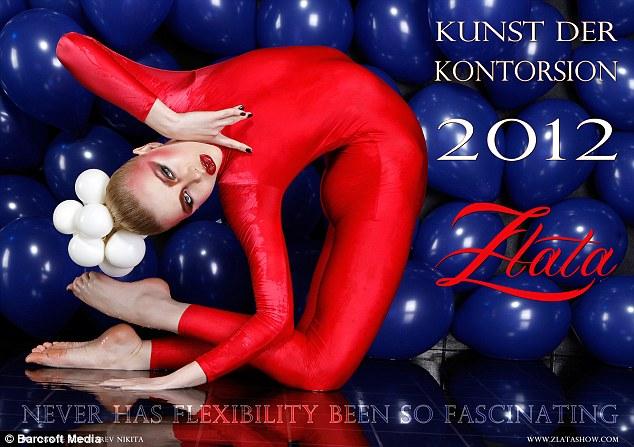 Обложка календаря от Златы на 2012 год