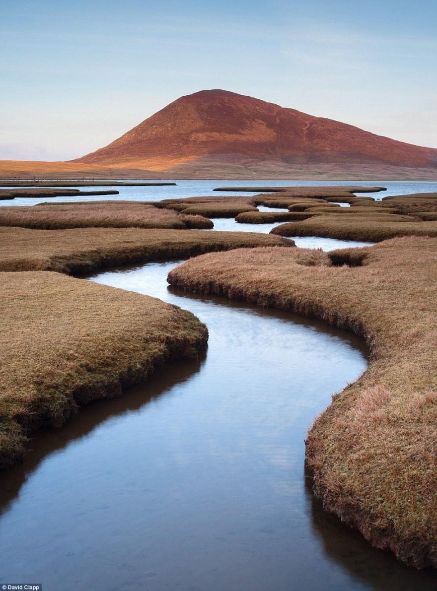 Мистический пейзаж: солончаки Родел на острове Харрис, в Шотландии