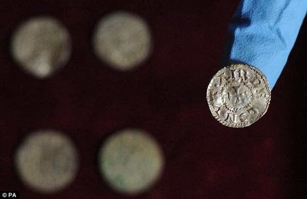 Монета, с изображением названия Alwaldus