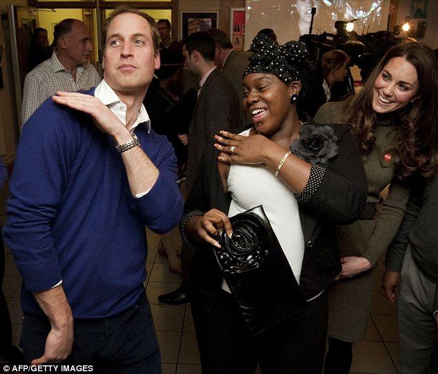 Во время визита Уильям показал несколько танцевальных па