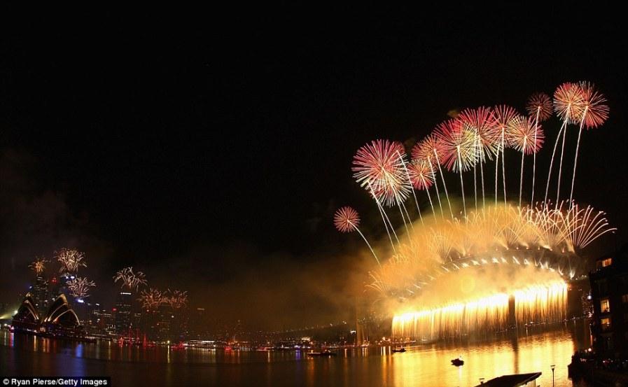 Австралия приветствует 2012 год