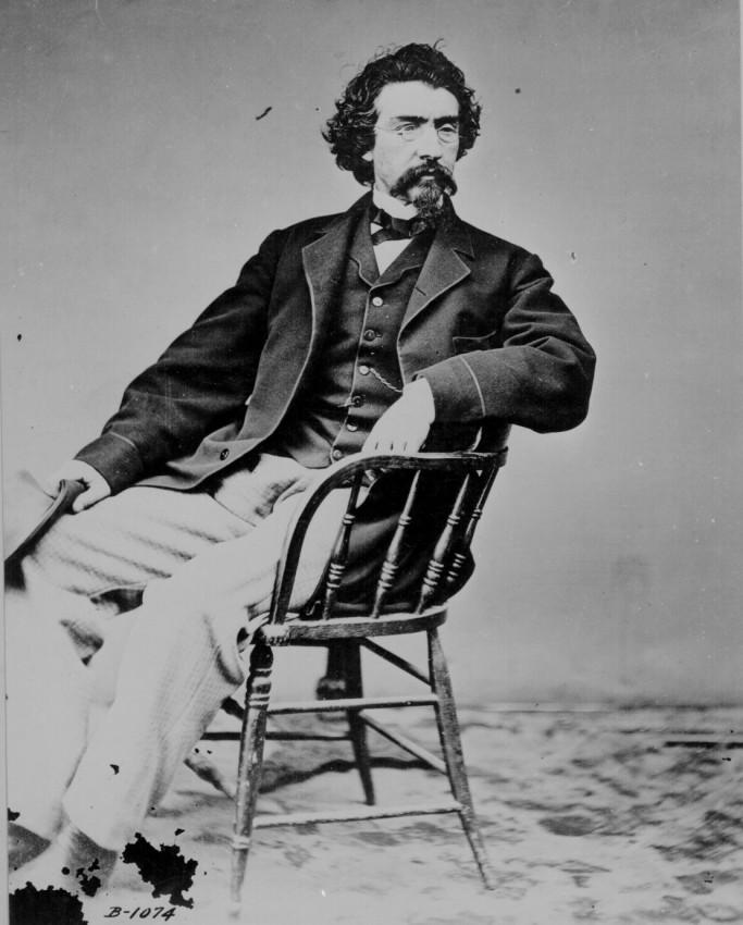 Автопортрет 1875 года, Mathew B. Brady