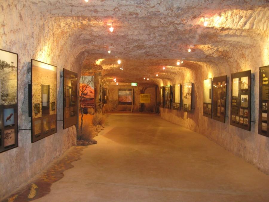 Музей добычи опалов под землей