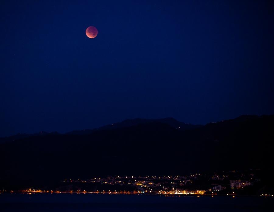 Штат Калифорния, 1 час ночи в окрестностях Санта-Моники