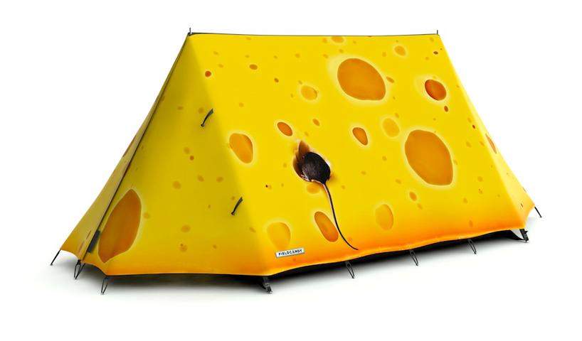 Яркие палатки от  Fieldcandy