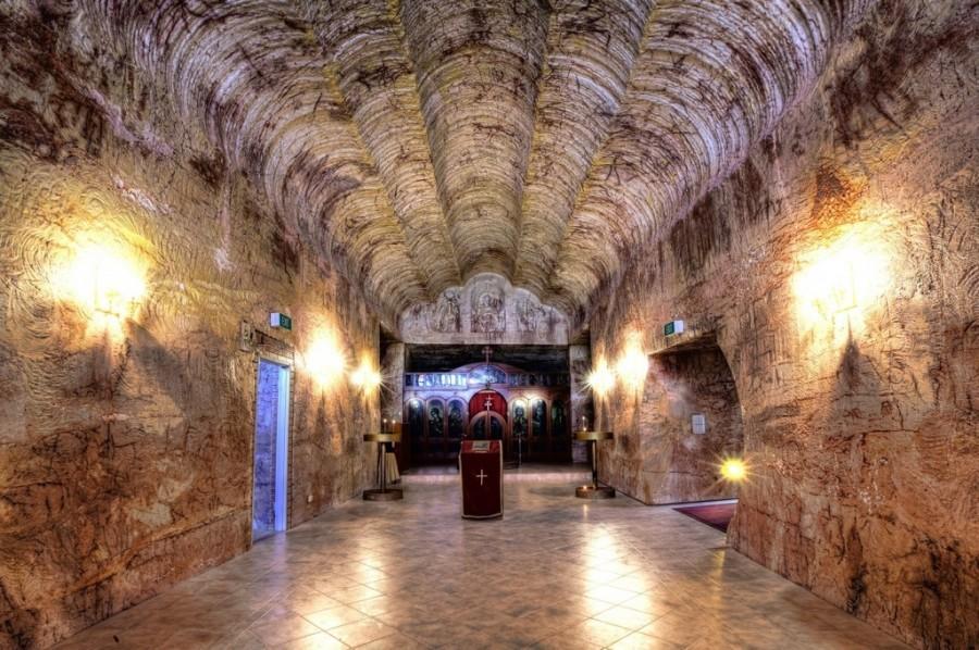 Полукруглые своды православного храма