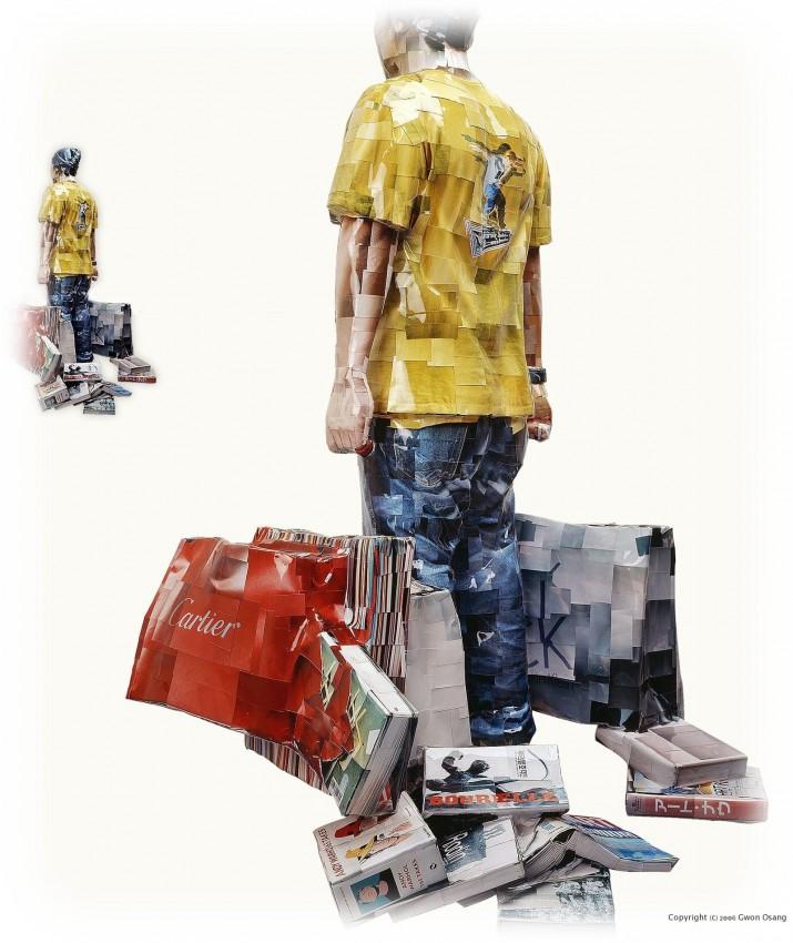 Фото-скульптуры Gwon Osang