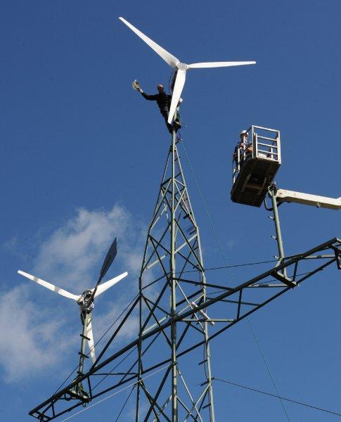 Новый вид ветряных электротурбин, работающих при очень малом ветре, должен стать заменой атомной энергетике Германии