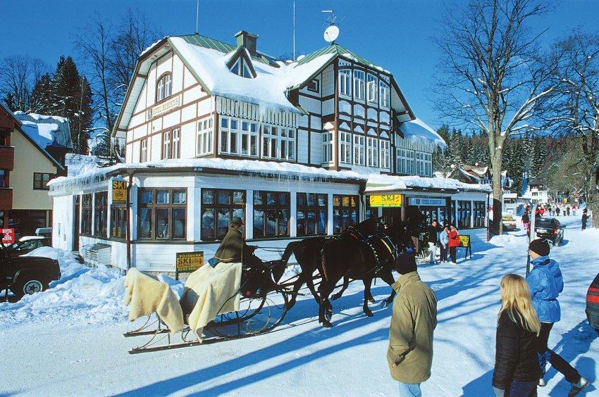 Зимняя сказка в Шпиндлерув Млыну