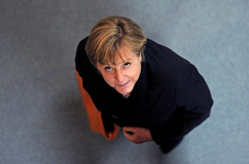 Ангела Меркель в Бундестаге, сентябрь 2011 года