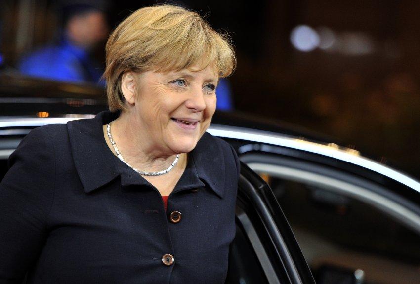 Ангела Меркель прибыла на неформальный ужин в Брюсселе