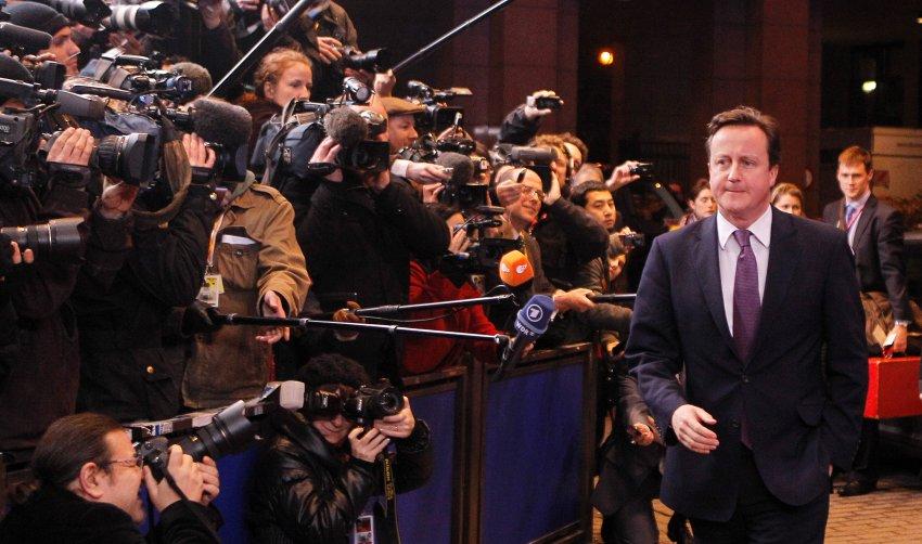 David Cameron выступил с резкой критикой новой политики Еврозоны