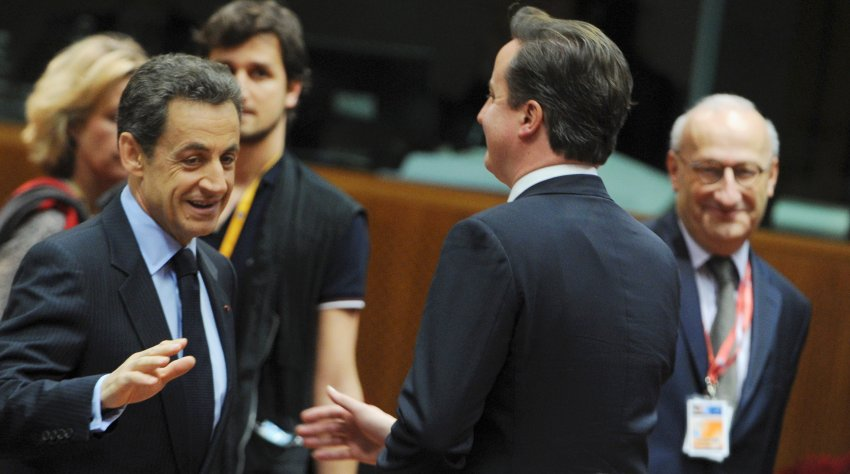 Саркози не подал руки Кэмерону