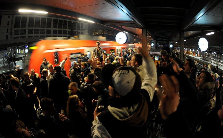 Начало прощальной акции с алкоголем в Мюнхене