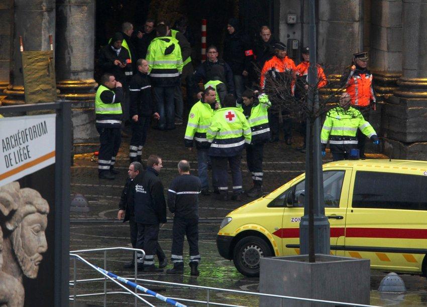 Спасательные службы на месте происшествия