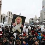 Демонстранты отомстили Путину за оскорбления