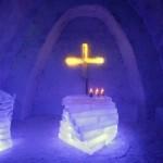 Свечи на ледяном алтаре