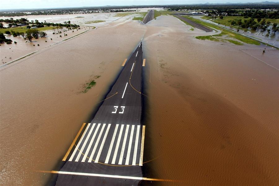 Наводнение в австралийском Квинсленде, 3 января