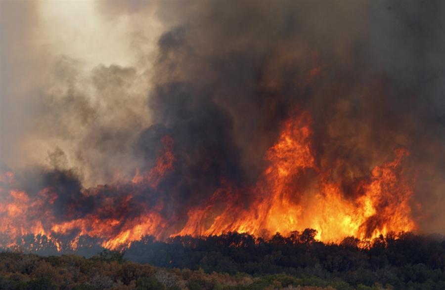Пожары в штате Техас в августе 2011 года