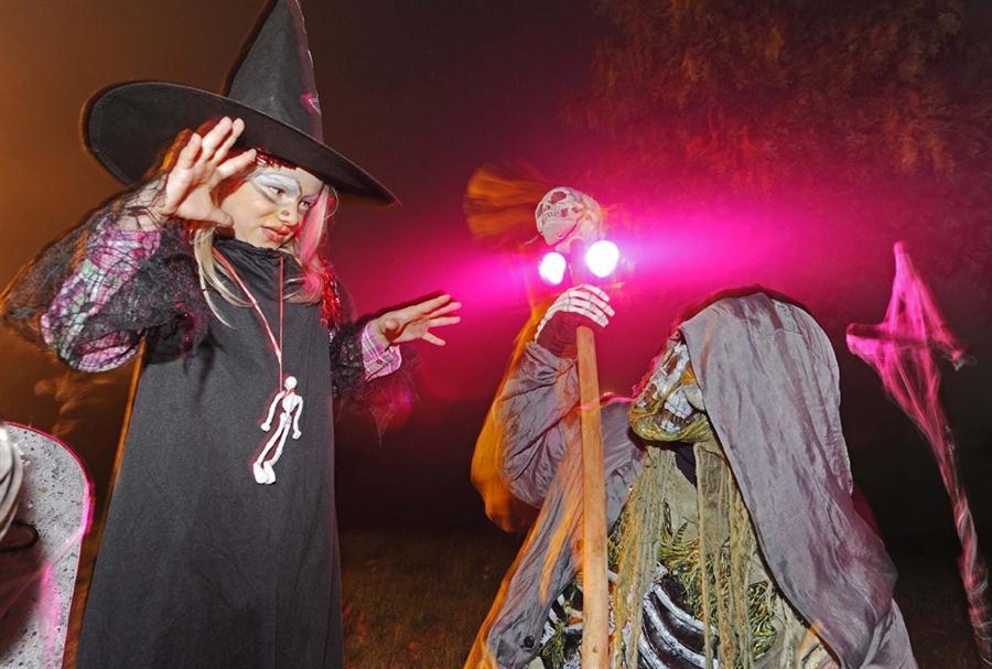 Развлечения на Хеллоуин в Германии, 31 октября