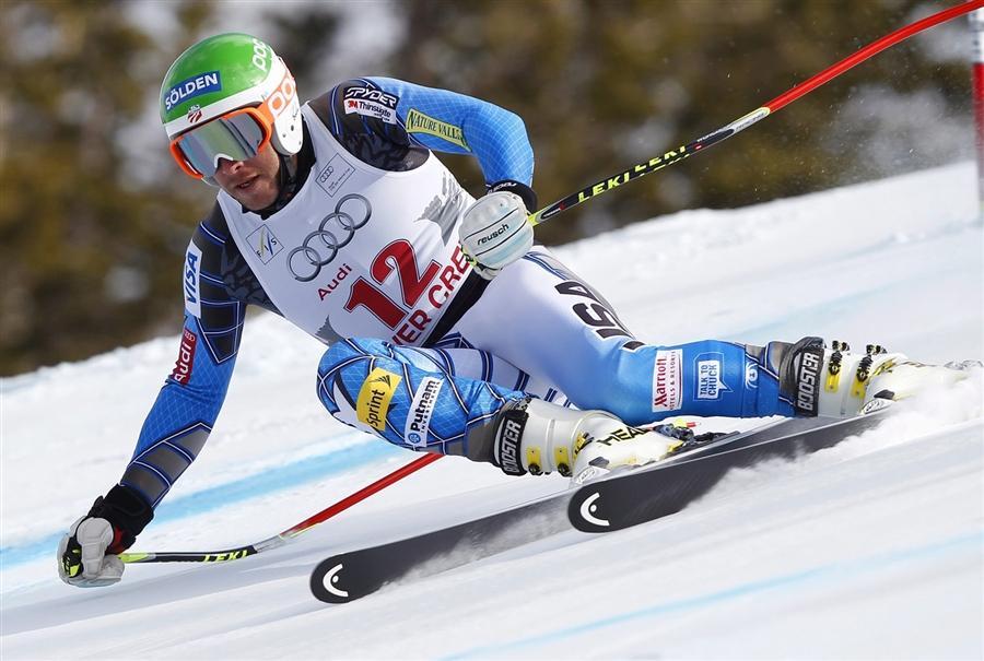 Боде Миллер из США стал первым на Кубке Мира в Бивер-Крик, штат Колорадо, 2 декабря