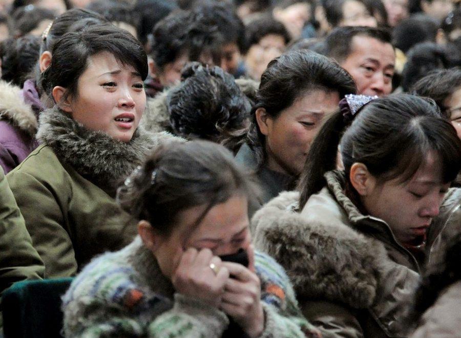 Северная Корея оплакивала смерть своего вождя Ким Чен Ира 19 декабря