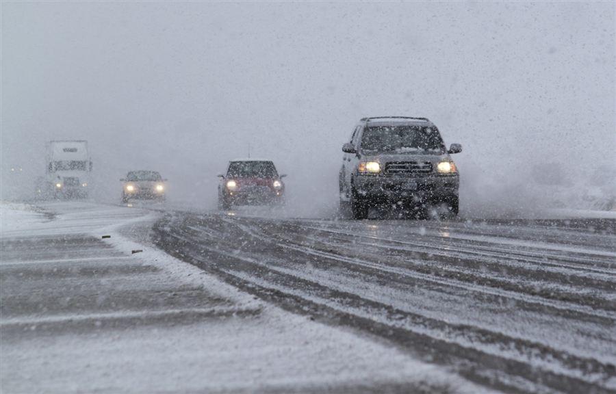 Бури и снегопады пронеслись над Нью-Мексико, 19 декабря