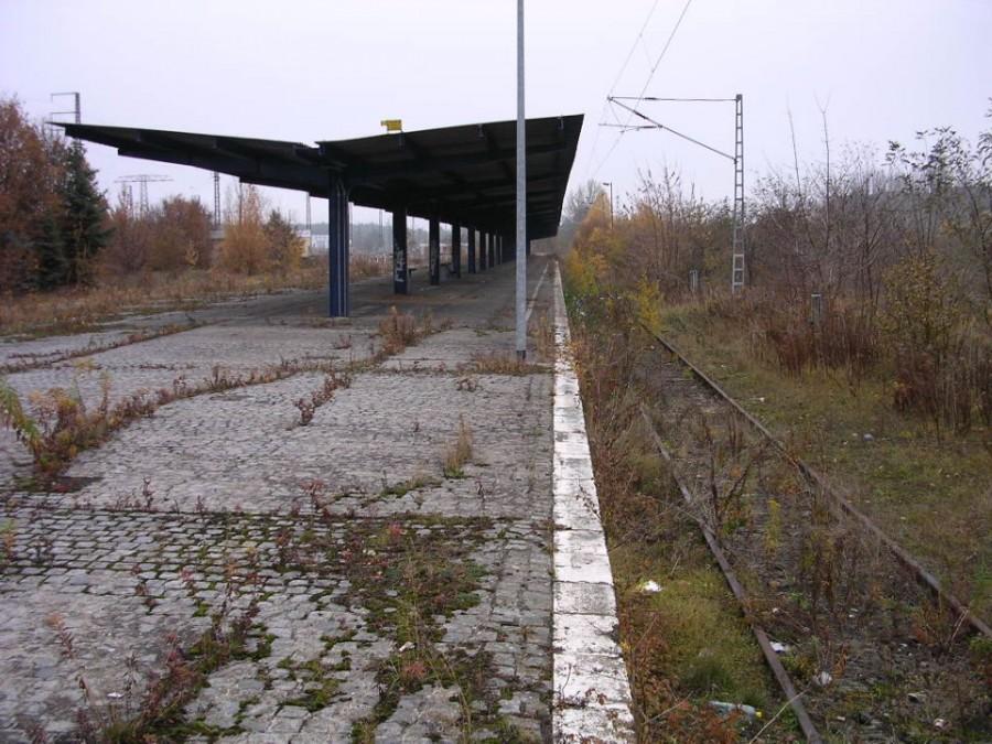 Заброшенная железнодорожная станция