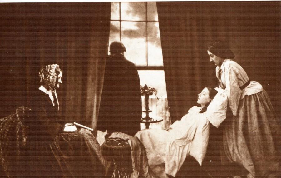 Комбинированная фотография - Смерть девочки, 1958 год