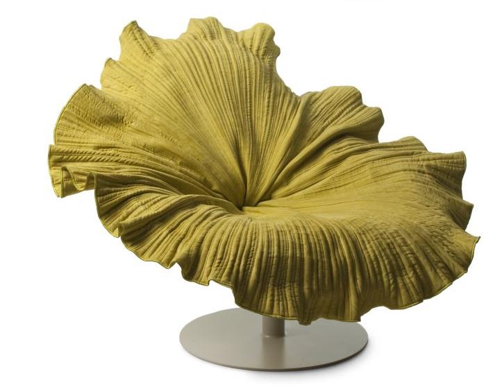 Кресло - цветок для тех, кто любит фантазировать