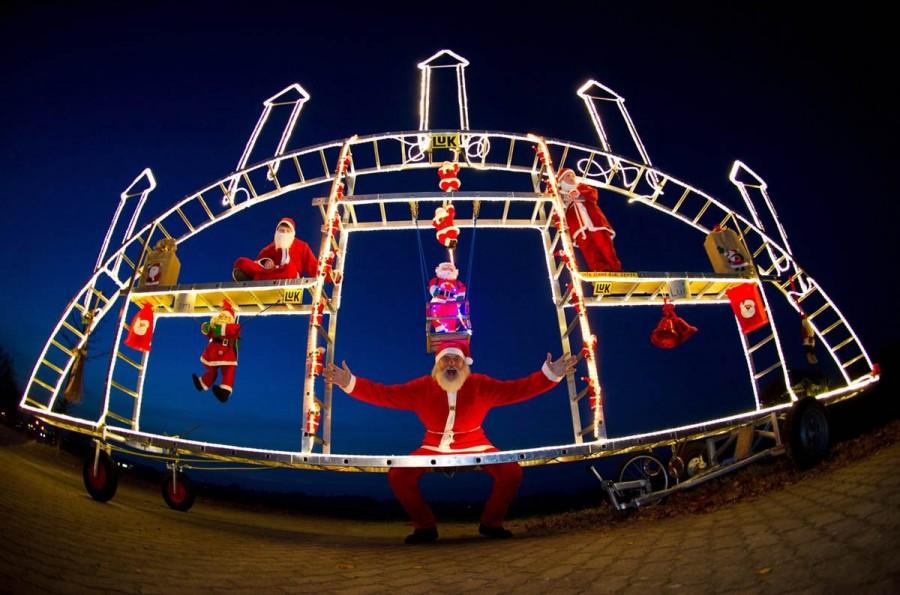 Санта Клаус - инженер из Германии