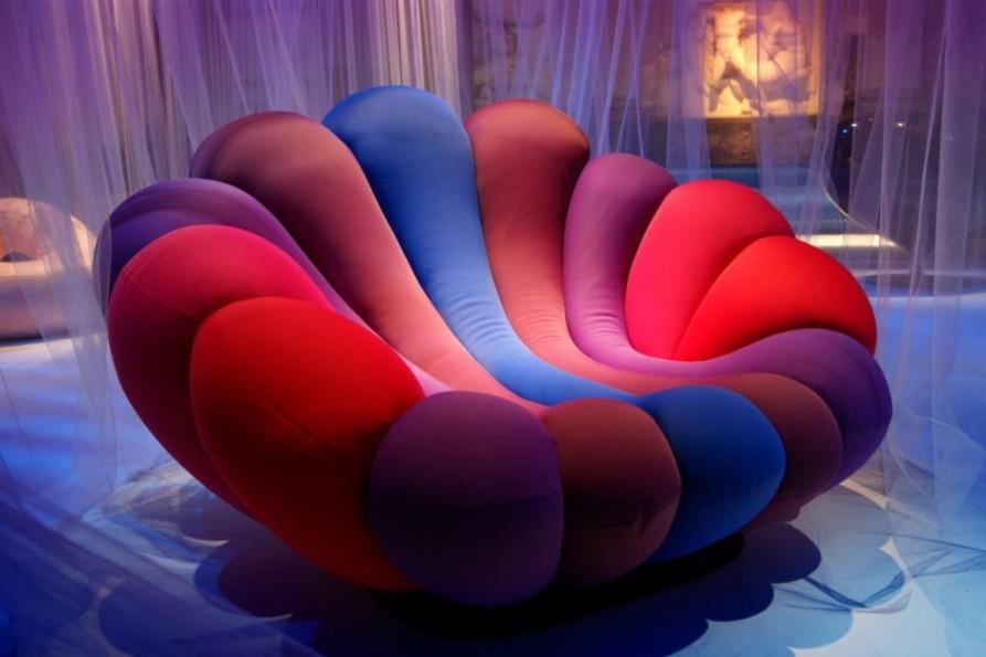 Кресло-цветок Giovannetti от Giancarlo Zema