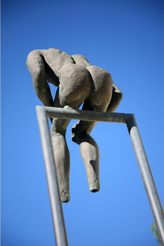 Памятник в греческом Санторини