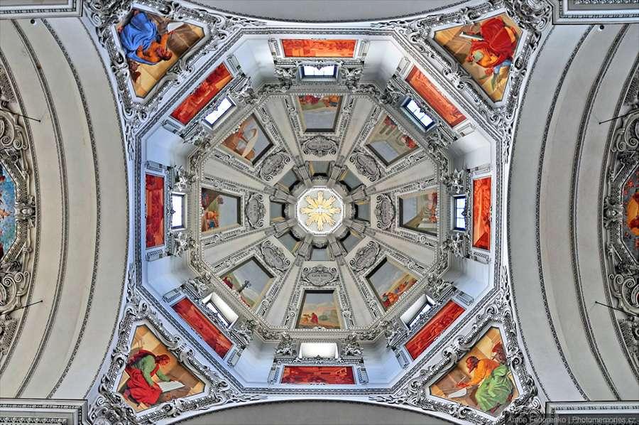 Купол Зальцбургского собора, фотограф Антон Федоренко