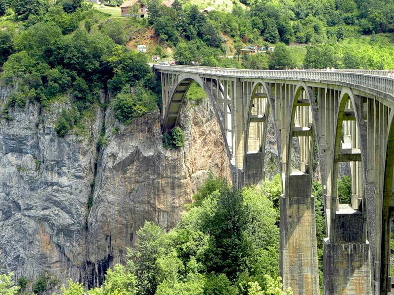 Мост Джурджевича через каньон