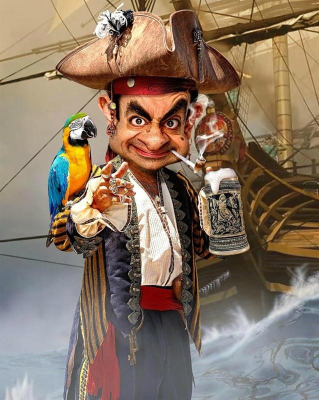 Мистер Бин - пират
