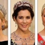 Мари-Шанталь из Греции, княжна Мэри из Дании и наследная принцесса Норвегии Метте-Марит