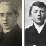 Священник Иоганн Кюбергер и детская фотография Гитлера