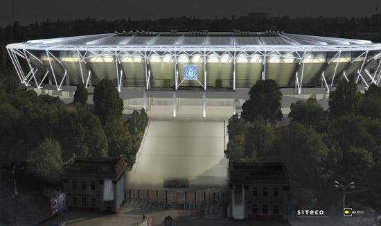 Стадион в Днепропетровске