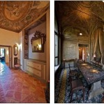 Столовая и прихожая украшены потолочными и настенными росписями